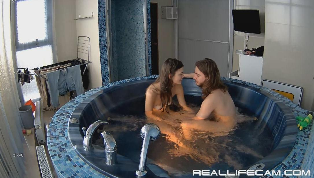 Anabel and Efim Many Position Fuck in Bathroom at RealLifeCam HD Sex