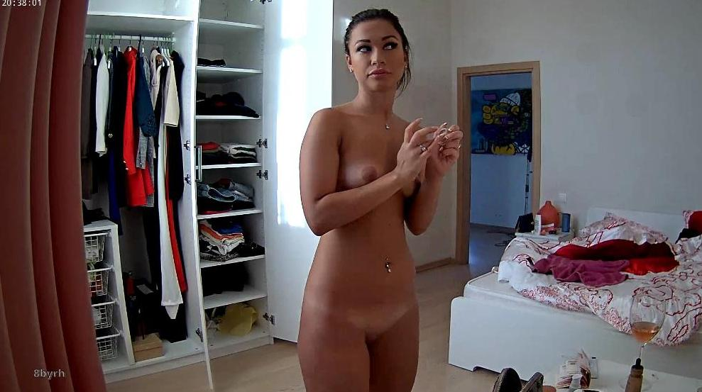 RealLifeCam Emily Sexy Naked Young Girl in Bedroom