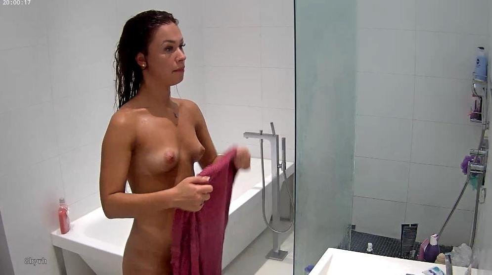 Emily RealLifeCam Sexy Naked TEEN Shower in Bedroom
