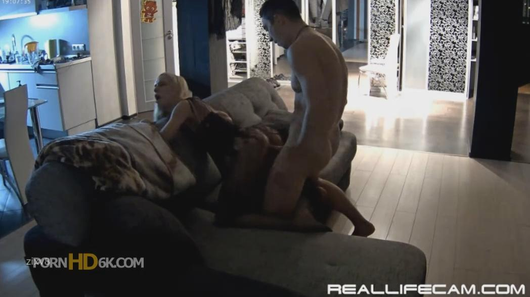 Nelly and Bogdan Hot Body Stockings Curvy Girl HARD Fuck at RealLifeCam