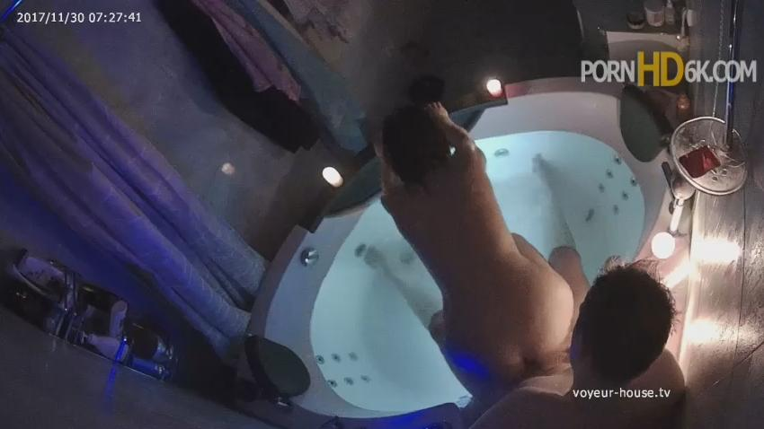Anastasia and Rock bath and Sex in Jacuzzi at Real Life Cam HD Videos