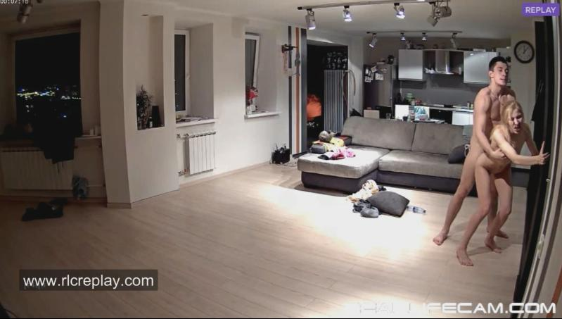 Nelly and Bogdan New HD Live Sex in LivingRoom