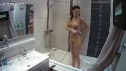 Camarads Sexy Nude Young Girl Shower