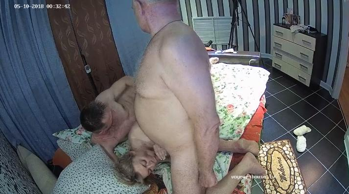 Betty rick & friend 3some Orgy in Bedroom at Voyeur House HD videos