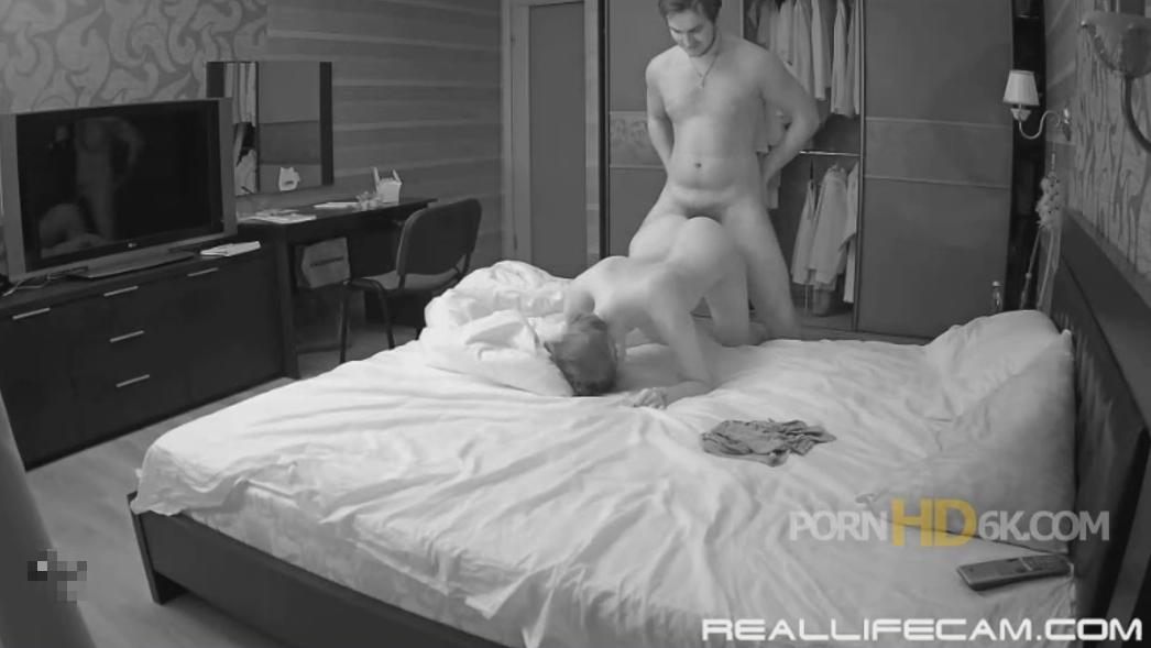 Lana and Robert Rough Doggy Fuck in Bedroom at RealLifeCam