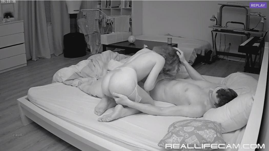Eva and Sam Tiny TEEN Suck and Fuck in Bedroom at RealLifeCam