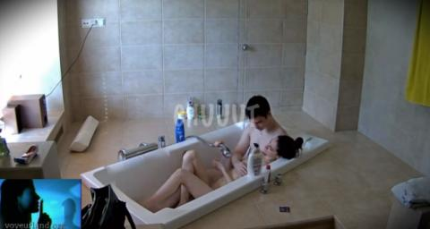 RealLifeCam Stesha Guest Shower Sex Video