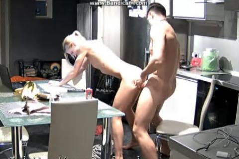RealLifeCam Nelly and Bogdan Fuck 2016-09-25