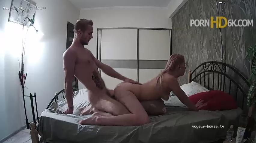 Voyeur House Violet and Jeff Hot Amazing Hardcore Evening Sex in Bedroom at HD videos