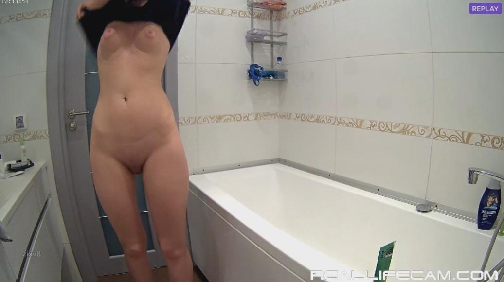 Mira and Kai Sexy nude TEEN Shower at RealLifeCamSex Video