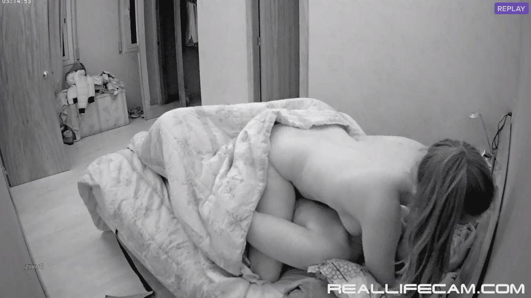 Martina and Alberto Midnight Perfect Sex in Bedroom at RealLifeCam
