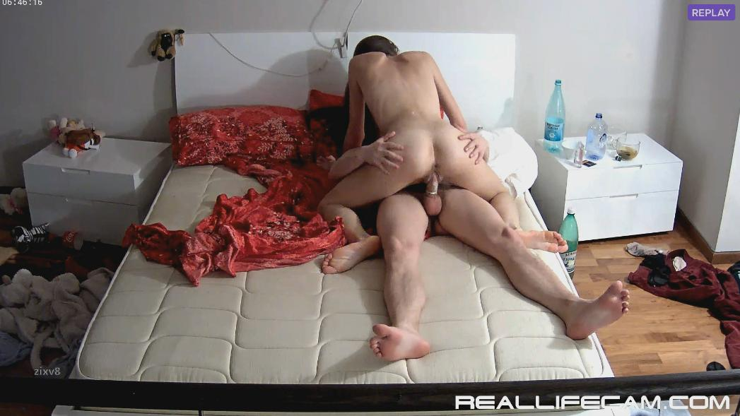 Anabel and Efim Missionary and Riding HARD Fuck at RealLifeCam