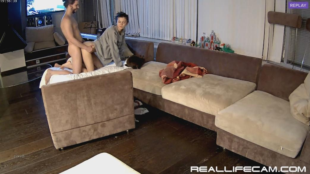 Anabel and Efim passionate fuck and riding at 2018 RealLifeCam