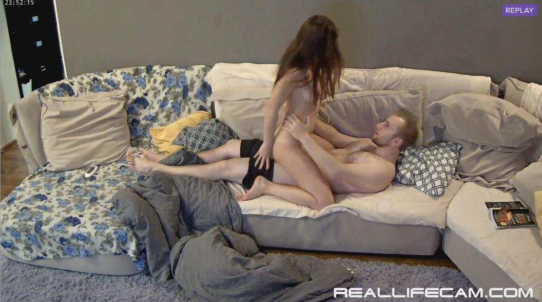 Leora and Paul Nympho BABE Dick Riding and Doggy HARD Fuck at RealLifeCam