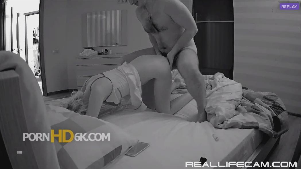 RealLifeCam Lana Charming Guest Couple Wet Pussy Hard Fucking in guest room