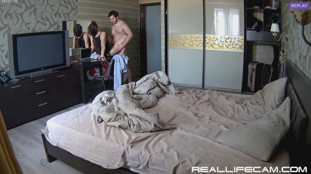 Lana and Robert Amazing Long Homemade HD Sex in Bedroom at RealLifeCam