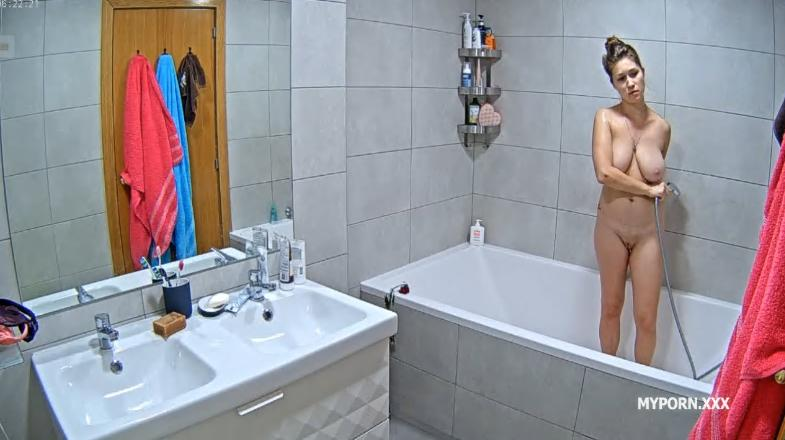 RealLifeCam Irma is Back - Charming Naked Teen Shower